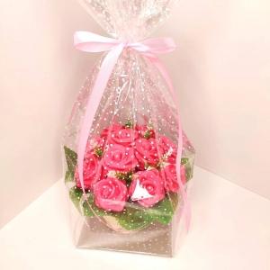 Букет из 11 мыльных роз