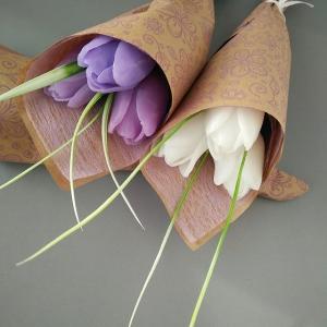 Букет из 3 мыльных тюльпанов