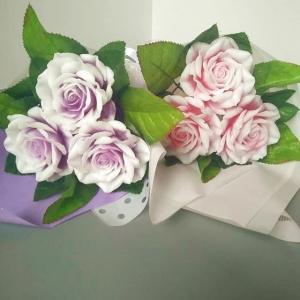 myloland.by Букет из 3 двухцветных роз