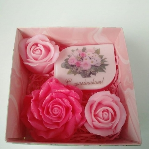 Розовая поздравлялка