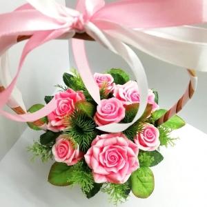 Розовое лукошко