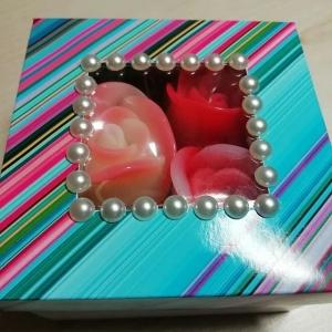 Оригинальная коробочка с розами