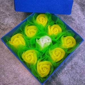 Набор из жёлтых роз