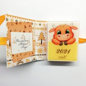 Новогодние открытки 2021