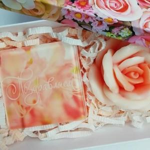 Набор с мыльной розой